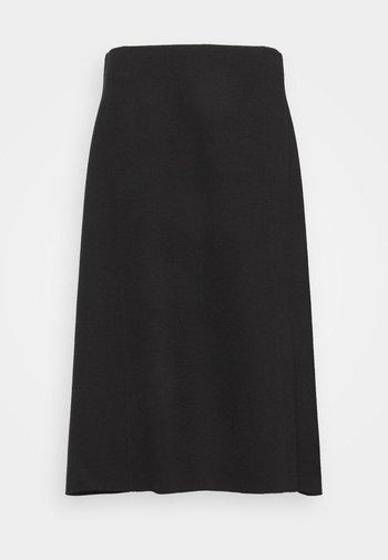 SKIRT FEMININE FLARED SILHOUETTE - A-line skirt - black