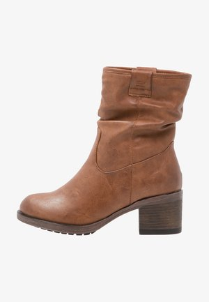 Bottines - cognac