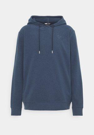 WARM HOOD - Sweatshirt - indigo night