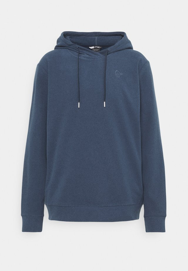 WARM HOOD - Sweatshirt - indigo night