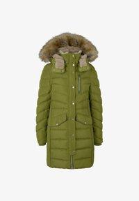 TOM TAILOR - SIGNATURE PUFFER COAT - Winter coat - wood green - 5
