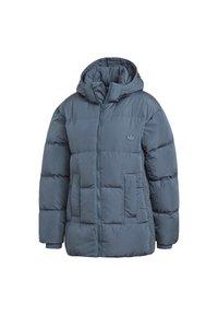 adidas Originals - WINTER REGULAR JACKET - Down jacket - legacy blue - 8