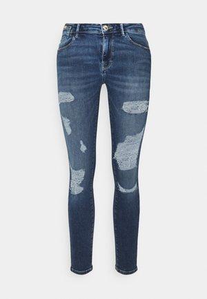 ONLCARMEN LIFE  - Jeans Skinny - dark medium blue denim
