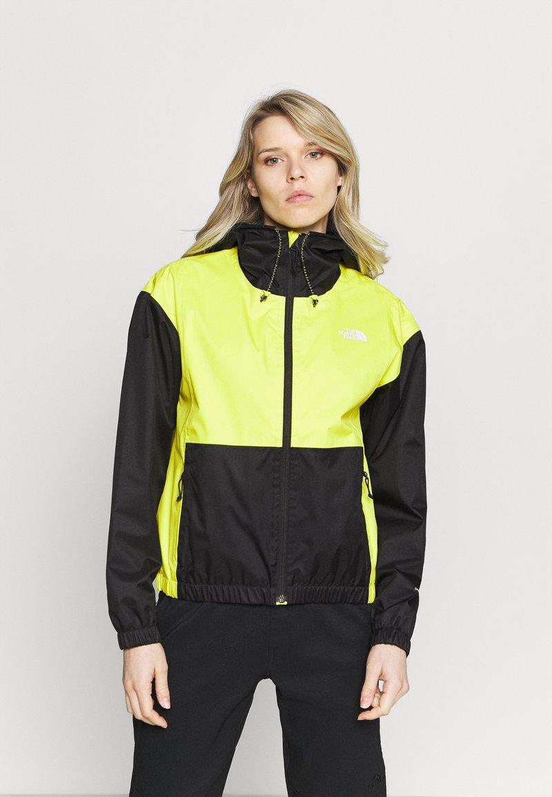 The North Face - FARSIDE JACKET - Veste Hardshell - yellow/black