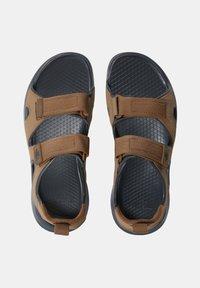 The North Face - M HEDGEHOG SANDAL III - Walking sandals - otter dark shadow grey - 2