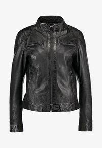 Oakwood - LINA - Leather jacket - black - 4