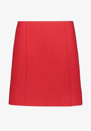 ROCK - A-line skirt - red