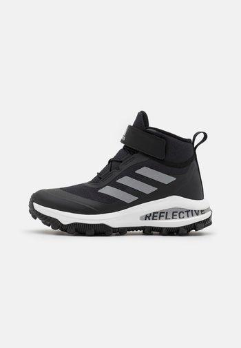 FORTARUN ATR UNISEX - Hiking shoes - core black/silver metallic/footwear white