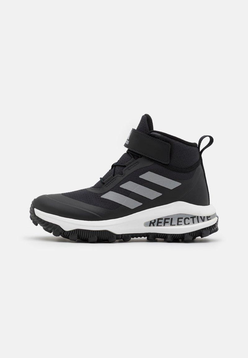 adidas Performance - FORTARUN ATR UNISEX - Obuwie hikingowe - core black/silver metallic/footwear white