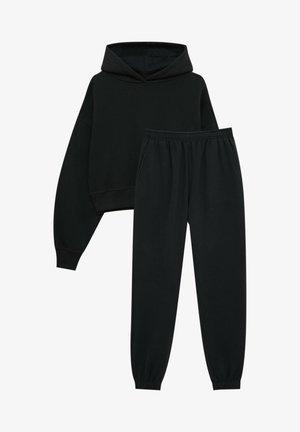 Tracksuit - mottled black