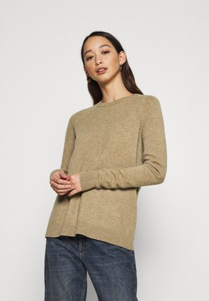 VMDOUCE FRENCH O NECK - Jumper - tobacco brown melange
