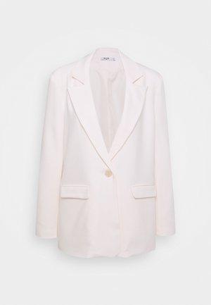 VIVIAN HOORN X NA-KD OVERSIZED - Blazer - light beige
