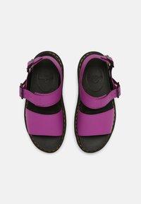 Dr. Martens - VOSS QUAD - Platform sandals - bright purple - 4