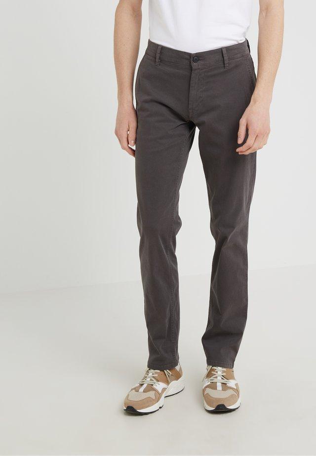 REGULAR FIT - Pantaloni - anthracite