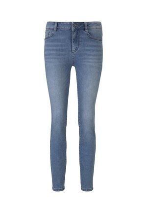 TOM TAILOR JEANSHOSEN KATE SLIM JEANS - Slim fit jeans - light stone wash denim