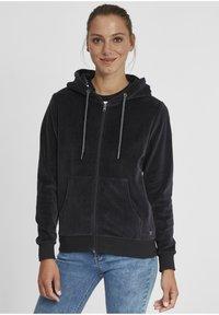 Oxmo - Zip-up hoodie - insignia b - 0