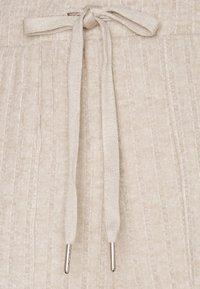 Kaffe - LUANA PANTS - Trousers - beige melange - 5