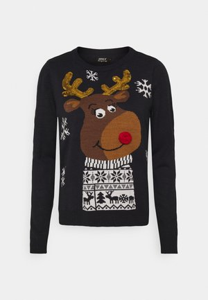 ONLXMAS RUDOLF - Jumper - night sky