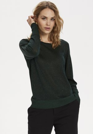 KAANKRA  - Jumper - dark green metallic