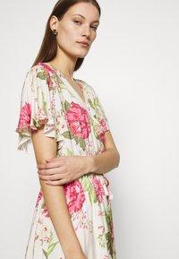Mos Mosh - TACY ROSE DRESS - Day dress - ecru - 3