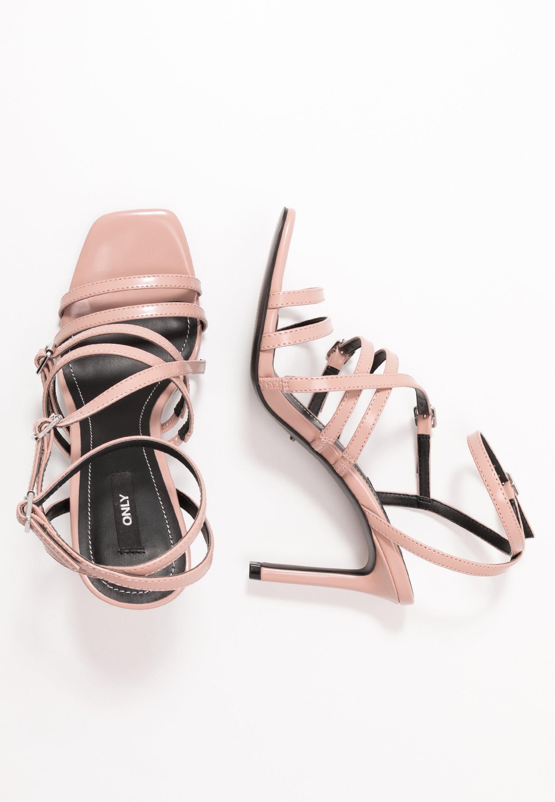 Only Shoes Onlalyx - Højhælede Sandaletter / Sandaler Nude