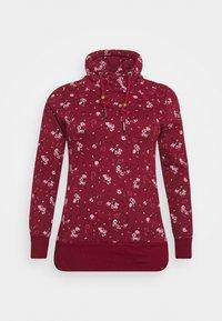 Ragwear Plus - NESKA FLOWERS - Hoodie - red - 5