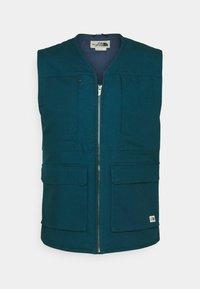 ROSTOKER GILET - Waistcoat - monterey blue