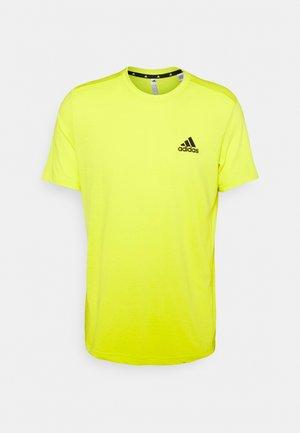 Basic T-shirt - aciyel/black