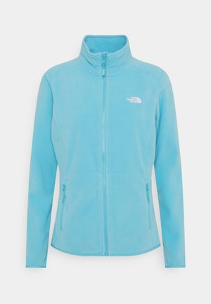 WOMENS GLACIER FULL ZIP - Fleecejakker - maui blue