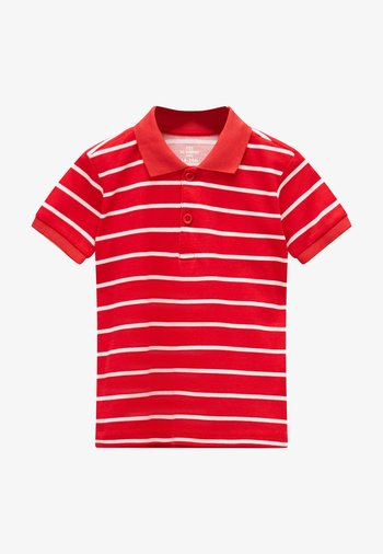 Polo shirt - red striped