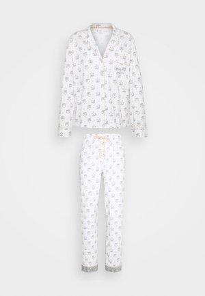 MASCULINE OPTIMISTE LONG - Pyjamas - white