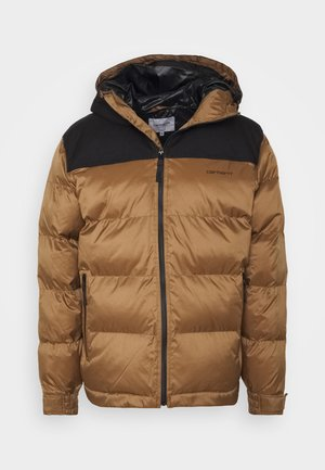 LARSEN JACKET - Vinterjacka - hamilton brown/black