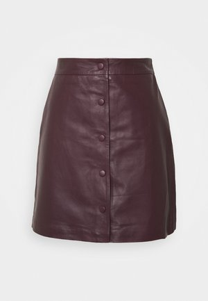 SLFALLY SKIRT - Pencil skirt - winetasting