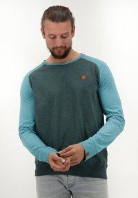 alife & kickin - SAMMYAK - Long sleeved top - emerald - 0