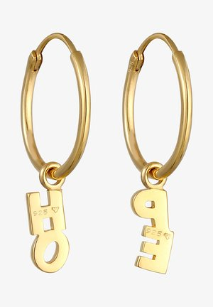 Boucles d'oreilles - gold-colored