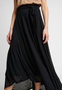 Esprit - SKIRT - Maxi skirt - black - 4
