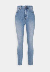 mine to five TOM TAILOR - SKINNY WITH OPEN HEM - Jeans Skinny Fit - light stone blue denim - 0