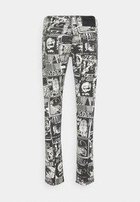 Diesel - STRUKT - Slim fit jeans - khaki/black denim - 1