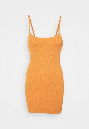 MARGOT MINI DRESS - Shift dress - nutmeg