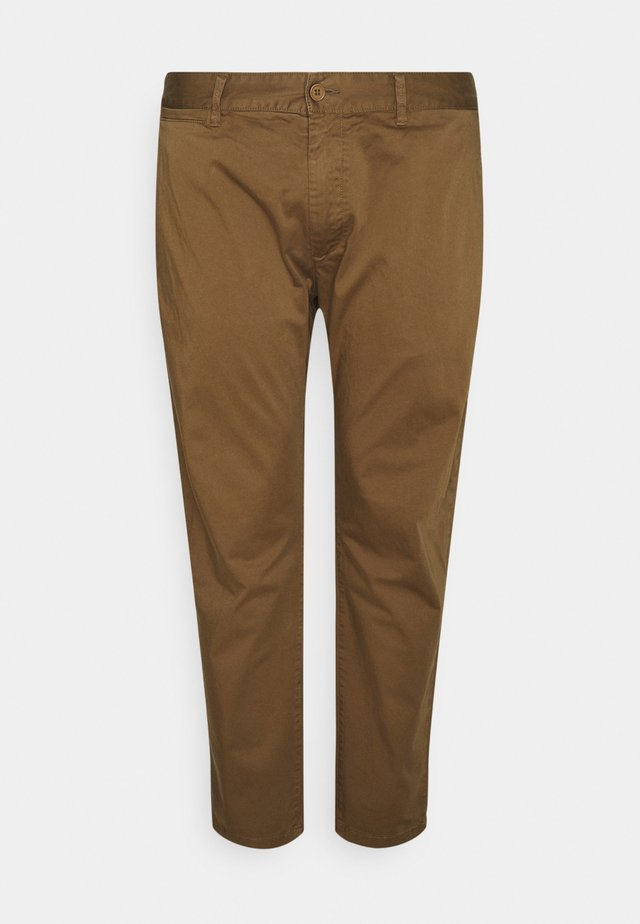 JIM - Chino kalhoty - dark brown