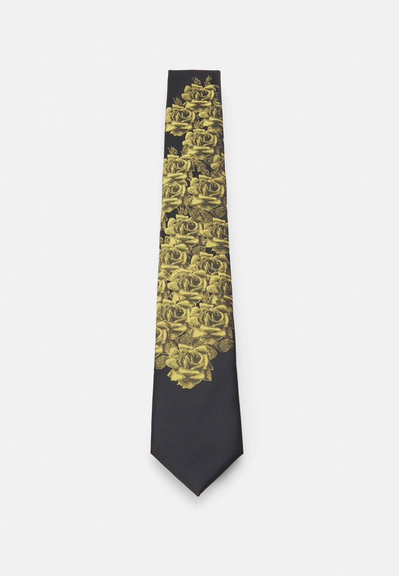 Twisted Tailor - CORNELL TIE - Kravata - black/gold-coloured