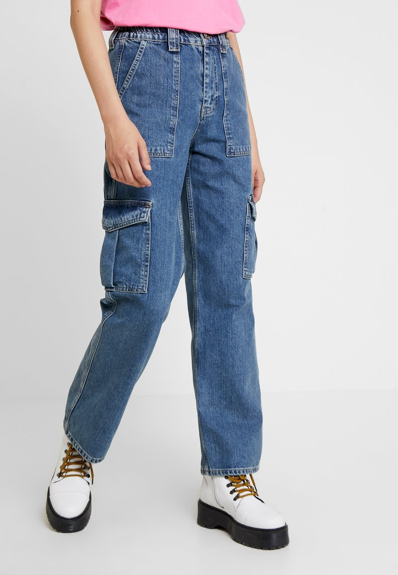 BDG Urban Outfitters - SKATE - Straight leg jeans - blue denim