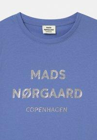Mads Nørgaard - T-Shirt print - blue violette - 2