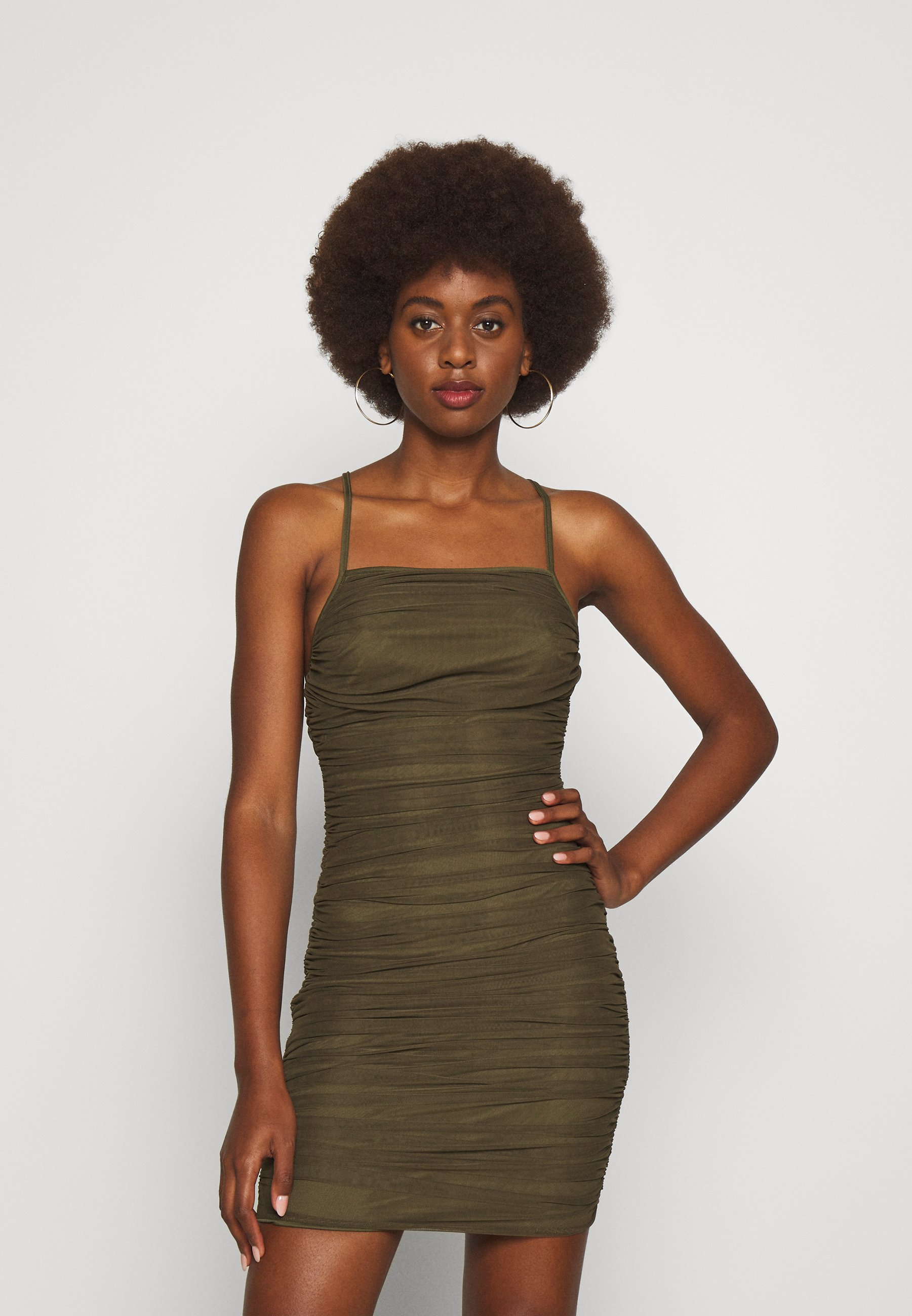 Damen RUCHED DRESS - Cocktailkleid/festliches Kleid