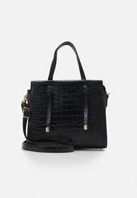 New Look - MINI TOTE - Handbag - black - 0