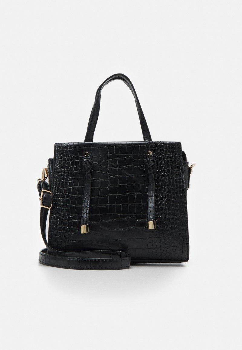 New Look - MINI TOTE - Handbag - black