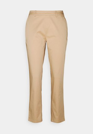 BASIC - Chino - Trousers - beige
