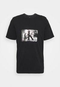 Calvin Klein Underwear - FOIL JOGGER SET - Pyjama set - black - 1