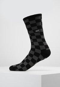 Vans - UA CHECKERBOARD CREW II (6.5-9, 1PK) - Socks - black charcoal - 0