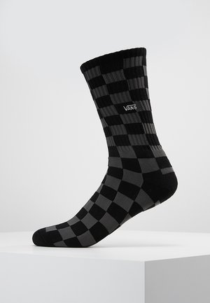 UA CHECKERBOARD CREW II (6.5-9, 1PK) - Sokken - black charcoal